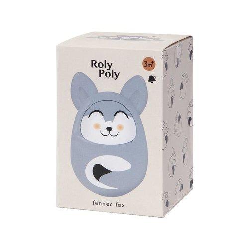 Petit Monkey Roly Poly Fennec Vos Grijs