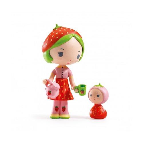 Djeco Tinyly Poppetje Berry & Lila