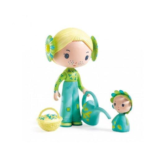 Djeco Tinyly Poppetje Flore & Bloom