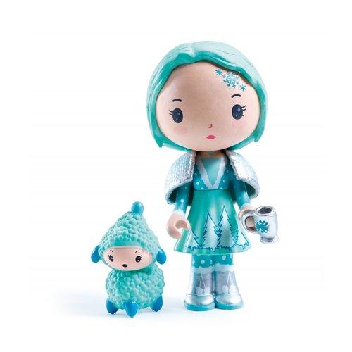 Djeco Tinyly Poppetje Cristale & Frizz