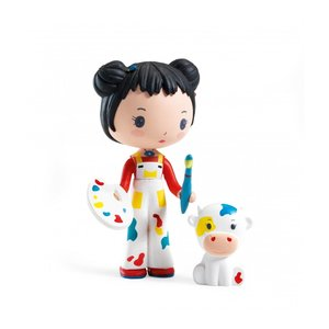 Djeco Tinyly Poppetje Barbouille & Gribs