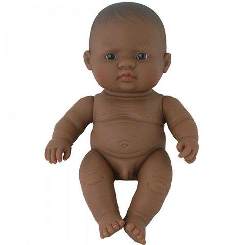 Miniland Babypop Jongen Getint - 21 cm