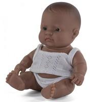 Babypop Jongen Getint - 21 cm