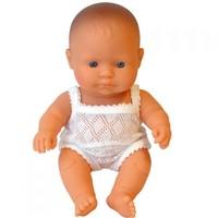 Babypop Jongen Blank - 21 cm