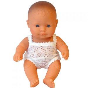 Miniland Babypop Jongen Blank - 21 cm