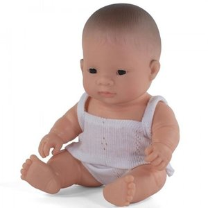 Miniland Babypop Meisje Aziatisch - 21 cm