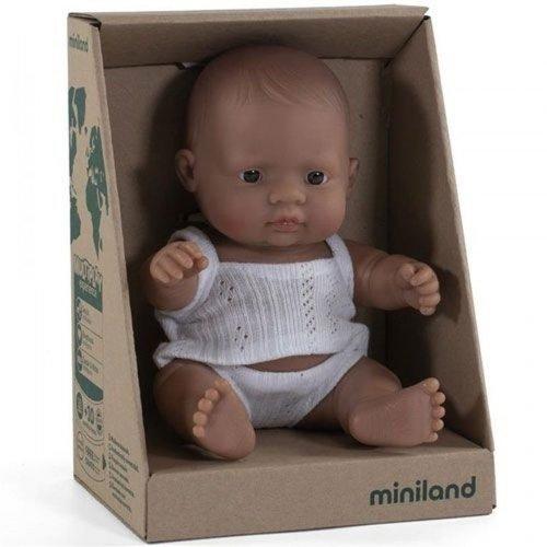 Miniland Babypop Meisje Getint - 21 cm