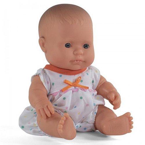 Miniland Poppen Pyjama Wit 21 cm