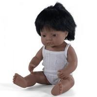 Babypop Jongen Getint - 38 cm