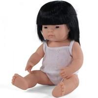 Babypop Meisje Aziatisch - 38 cm
