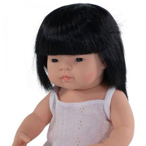 Miniland Babypop Meisje Aziatisch - 38 cm