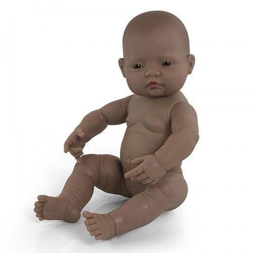 Miniland Babypop Meisje Getint - 40 cm