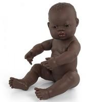 Babypop Meisje Donker - 40 cm