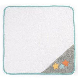 Miniland Poppen Handdoek Grijs 40 cm