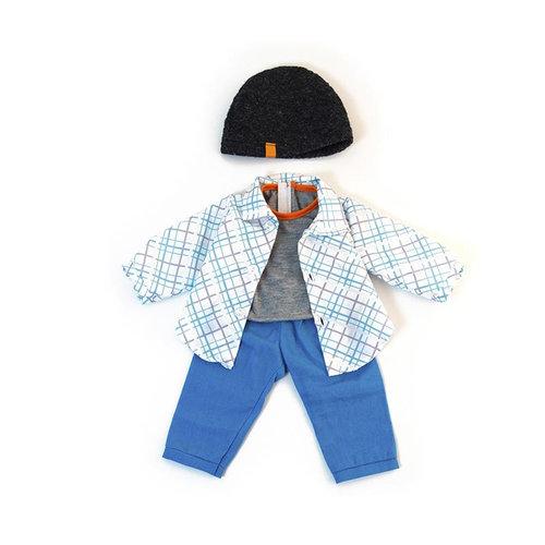 Miniland Poppen kleding Set Jongen 40 cm