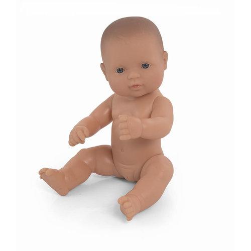 Miniland Babypop Meisje Blank - 32 cm