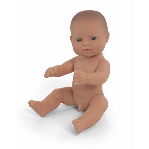 Miniland Babypop Jongen Blank - 32 cm