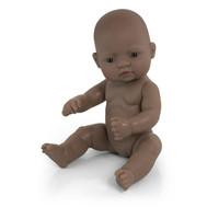 Babypop Meisje Getint - 32 cm