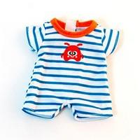 Poppen Pyjama Blauw - 21 cm