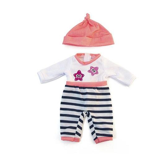 Miniland Poppen Pyjama Meisje - 32 cm