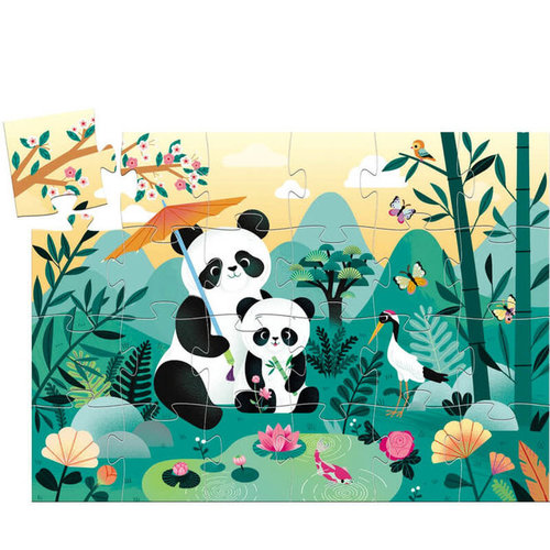 Djeco Puzzel Panda