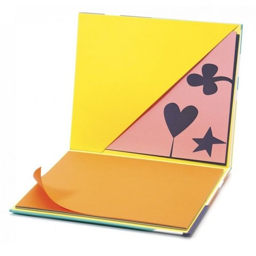 Djeco Schetsboek Gekleurd Papier
