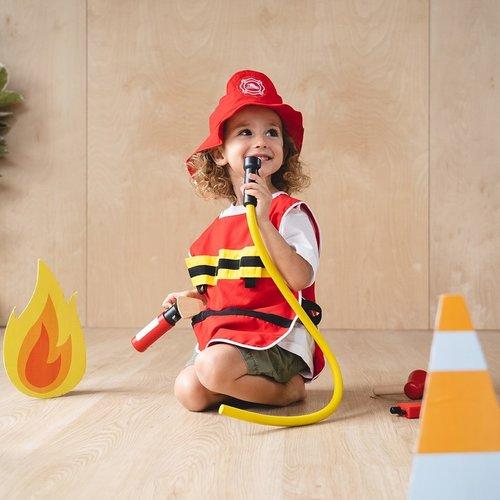 Plan Toys Brandweer Speel Set