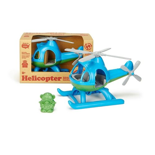 Green Toys Helikopter Blauw
