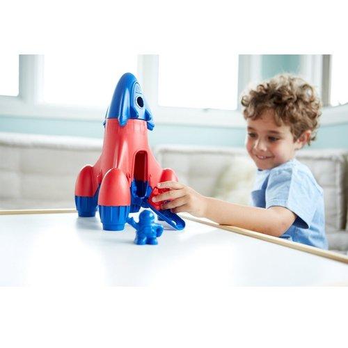 Green Toys Raket Blauw