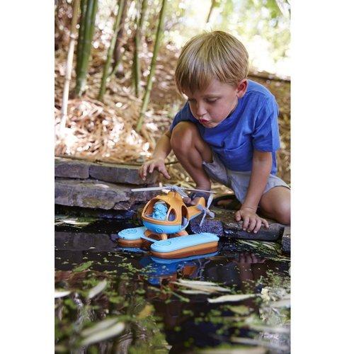 Green Toys Waterhelikopter Blauw