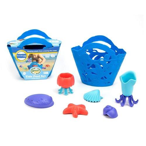 Green Toys Waterspeelgoed met Blauwe Mand