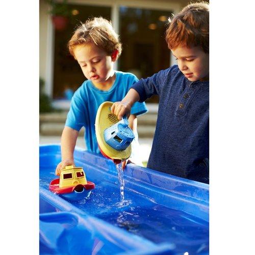 Green Toys Sleepboot Blauw Handvat
