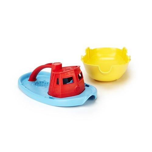Green Toys Sleepboot Rood Handvat