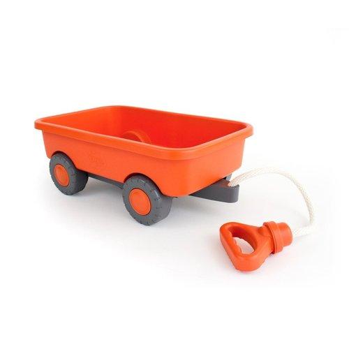 Green Toys Trekwagen Oranje