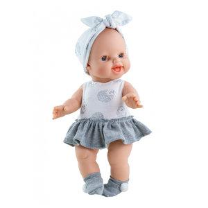 Paola Reina Kledingset Gordi pop Jurkje Egeltjes - 34 cm