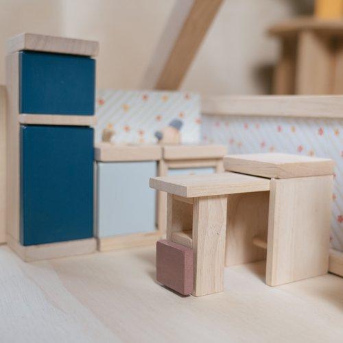 Plan Toys Poppenhuis Keuken Orchard