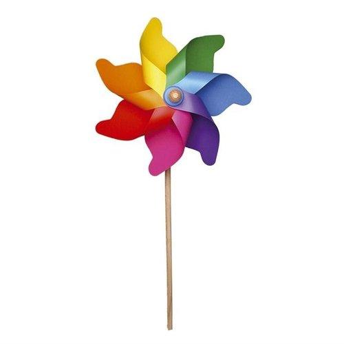 GIOBAS Regenboog Windmolen 76 cm