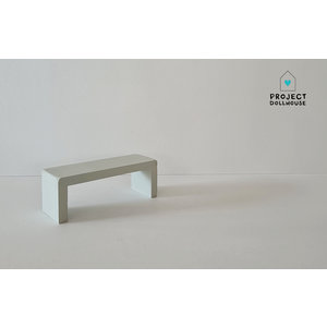 Project Dollhouse Bijzet Tafel voor Maileg Bed - Gentle Green