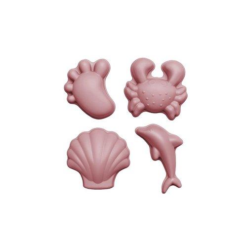Scrunch Zandvormpjes Oud Roze