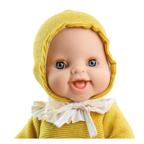 Paola Reina Gordi Pop Meisje Anik Gele Trui 34 cm