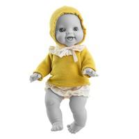 Kledingset Gordi pop Anik Gele Trui - 34 cm