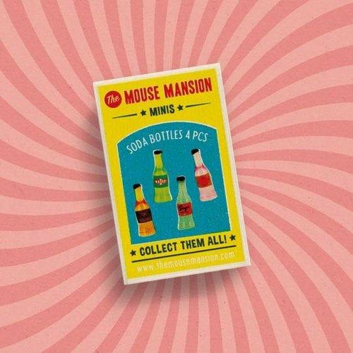 Het Muizenhuis Mini's Limonade Flessen