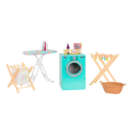 Our Generation Tumble & Spin Wasserette Set