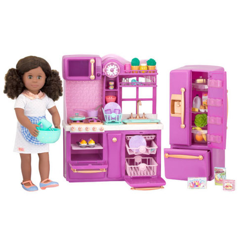 Our Generation Gourmet Kitchen Set - Paars