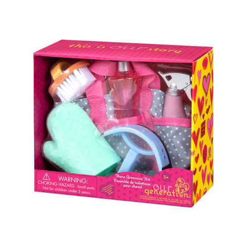 Our Generation Horse Grooming Set