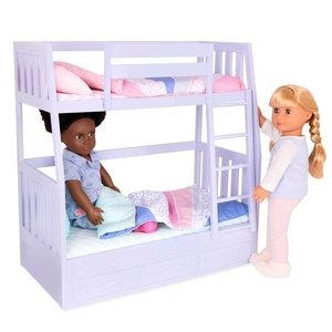 Our Generation Dream Bunks - Lila - Stapelbed
