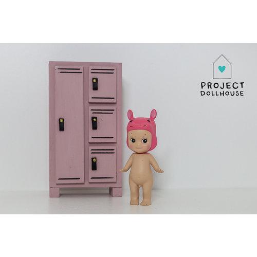 Project Dollhouse Lockerkast 4 Deurs