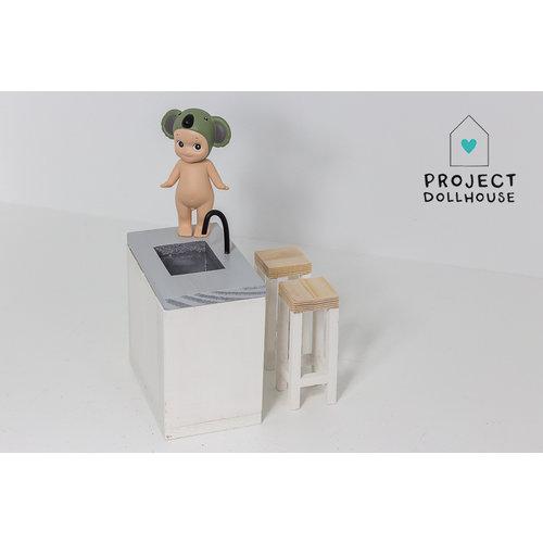 Project Dollhouse Keuken Eiland