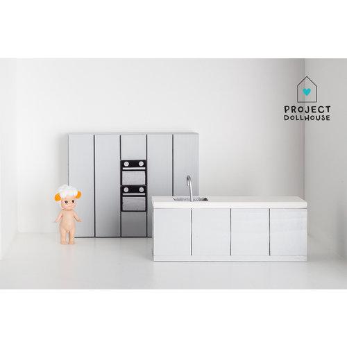Project Dollhouse Complete keuken Beton