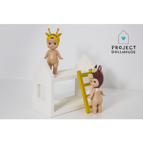 Project Dollhouse Huisjes stapelbed
